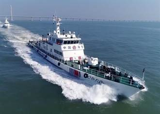 大陸機關炮海警船駛入釣魚島海域 擬追趕日本漁船