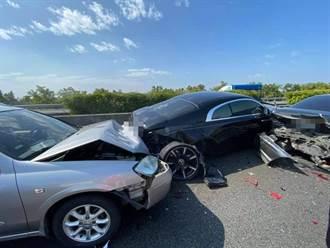 國產車撞2千萬勞斯萊斯 網見照哀號:秒變負二代