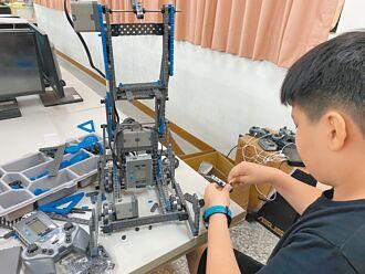 優秀 十興國小操控機器人有一套
