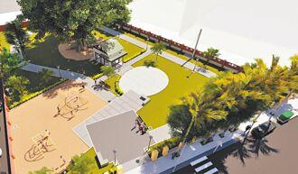 新營公3共融式公園 4月完工啟用