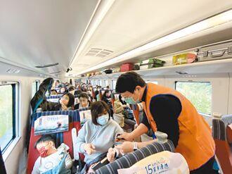 台東返鄉返工專車 搭乘率逾9成5