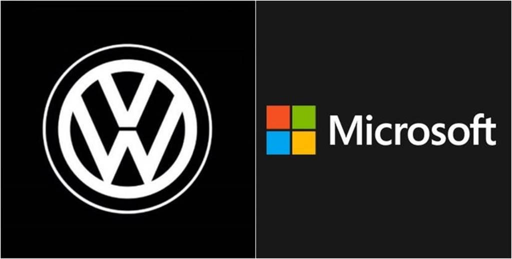 加速自動駕駛電動車開發,福斯攜手微軟打造雲端平台技術