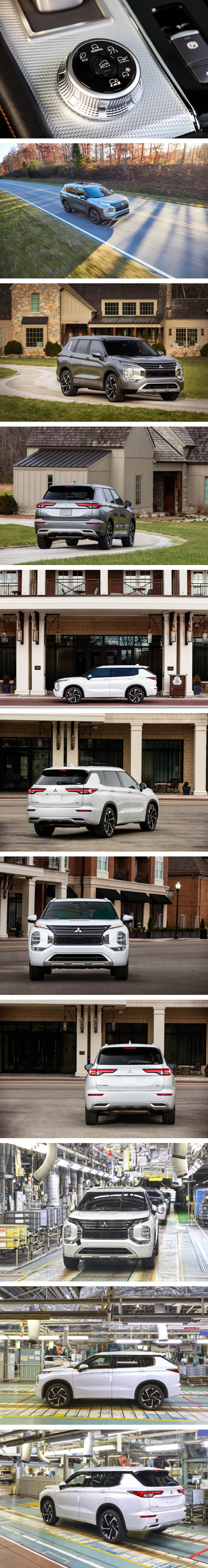 引領三菱邁入新次元,Mitsubishi 第四代 Outlander 北美首發!