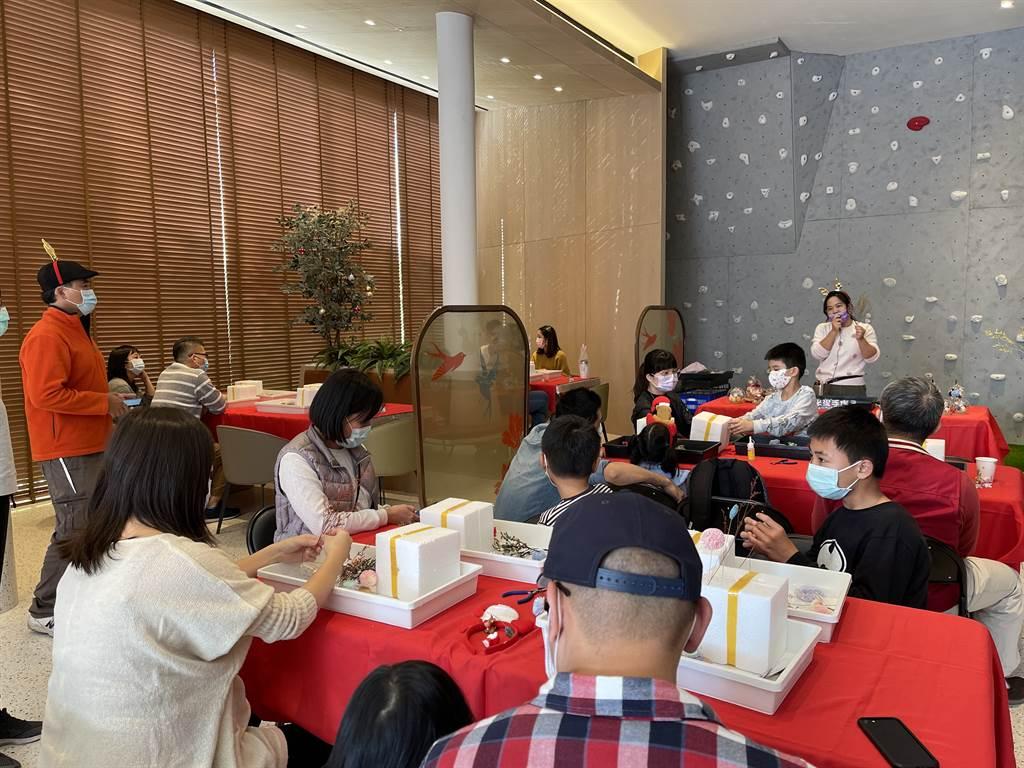 太平「陞霖太美」新春案場活動報名一開放即秒殺。(葉思含攝)