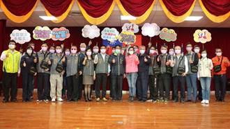 台南警友出資送隨身勤務包 義警民防也受惠