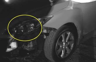 台南街頭命案 仇家砍殺開車來回輾 車頭燈留恐怖血掌印