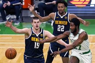 NBA》金塊約基奇空砍43分 綠衫軍雙槍俠聯手止敗