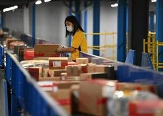 大陸除夕至初四寄送3.65億件包裹 較去年翻倍
