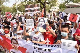 不信緬甸軍方會移交政權 反對派號召百萬人抗議