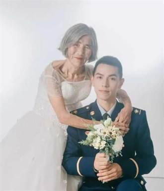 差61歲祖孫「婚紗照」網路瘋傳 感人故事曝光網友動容