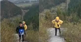 山頂客戶叫一箱啤酒 外送員爬400個階梯累癱:太難了