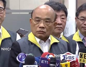 蘇貞昌民調曝光 藍委斷言一時機:想不下台也很難