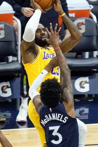 NBA》詹姆斯連續1024場得分上雙 前無古人恐後無來者