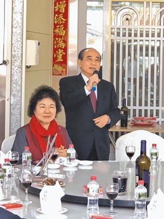 綠大咖拜年 王金平誇陳菊當院長很讚