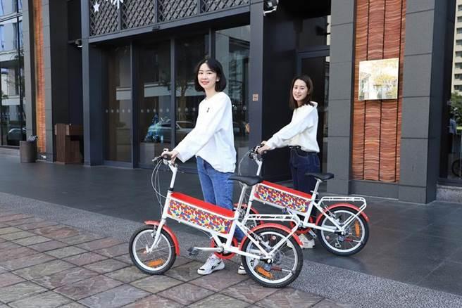 雙人入住台南晶英酒店指定房型,即能擁有超限量價值近7,000元「Hello Kitty 袋鼠車」乙台。(圖/台南晶英酒店提供)