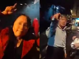 熟女酒空狂盧外送員送PIZZA 遭拒當街狂喊:你強姦我