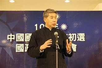 張亞中宣布參選國民黨黨魁 承諾提兩岸走向和平的具體方案