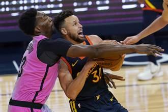 NBA》OT貢獻兩記三分球 柯瑞神奇幫勇士逆轉勝