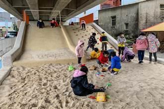國小附幼孩童創意 實現竹東首座台鐵兒童遊樂場