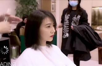 野生高圓圓現身髮廊講話好溫柔 女神染髮表情嚴肅超緊張