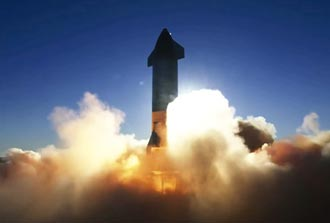 乘著星鏈、星艦飛上天 SpaceX估值衝740億美元