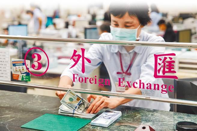 台幣兌美元早盤大升逾4.6角,再創23年半新高。(示意圖/本報系資料照片)