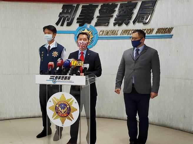 AIT助理安全調查官溫偉說明台美雙方合作成果。(林郁平攝)