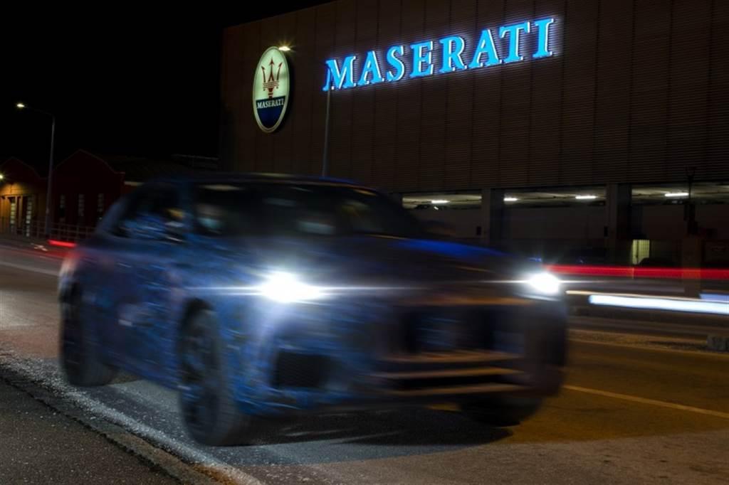 Maserati官方發佈第二款SUV-Grecale的偷拍照