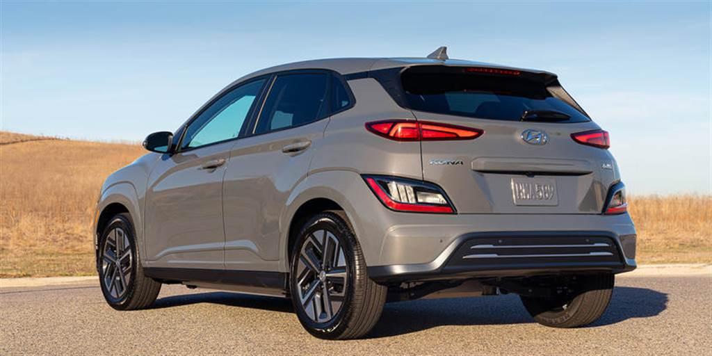 配備升級兼改善空氣力學:現代 Kona EV 小改款 春季登陸美國市場