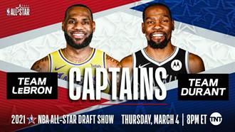 NBA》全明星賽先發名單公布 詹皇連4年當隊長