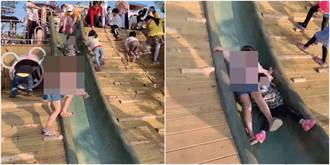 國小妹跳溜滑梯重壓3歲娃 媽氣炸控「對方母還一臉又沒怎樣」