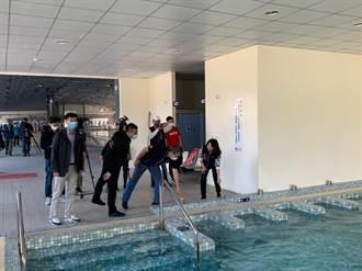烏日游泳池設施再升級 牛年重新開張盼提高使用率