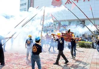 竹竿炮開炸 揭開六堆300年活動序幕