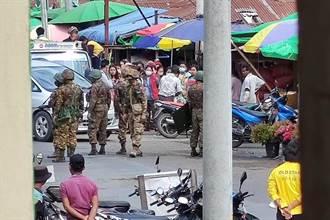 緬甸抗議首名死者 一女子頭部中彈10天後不治