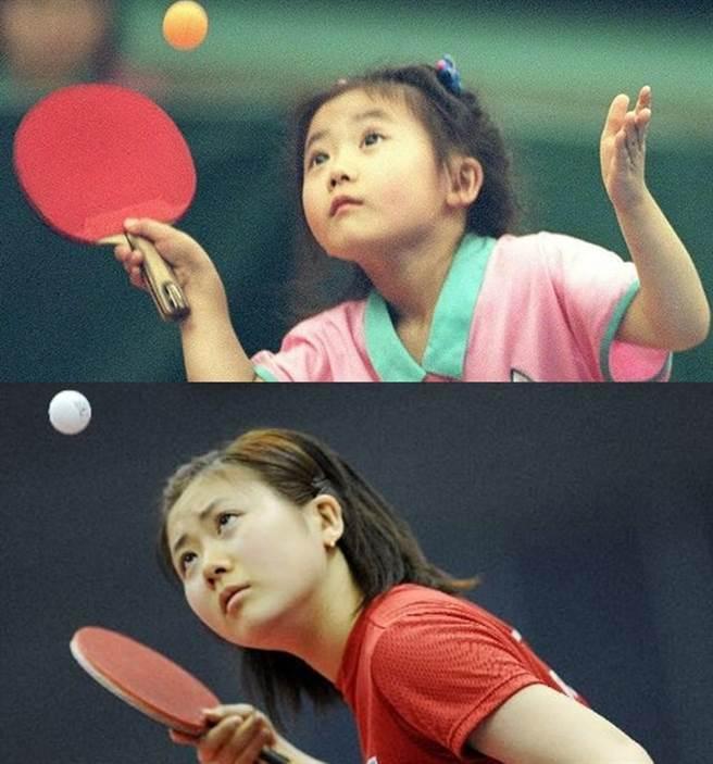 福原愛從3歲開始打桌球。(圖/PTT)