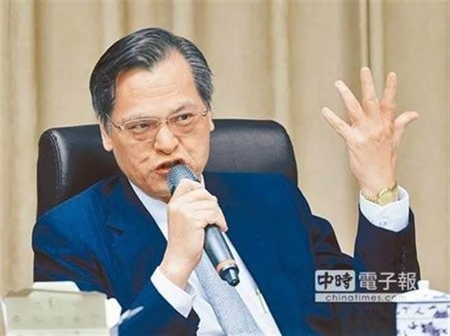 陳明通將轉任國安局長。(中時資料照)