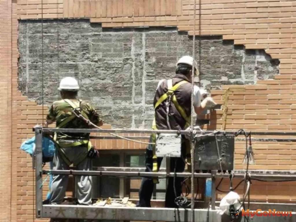 台北市老舊建物外牆修繕,補助上限10萬元(圖/台北市政府)