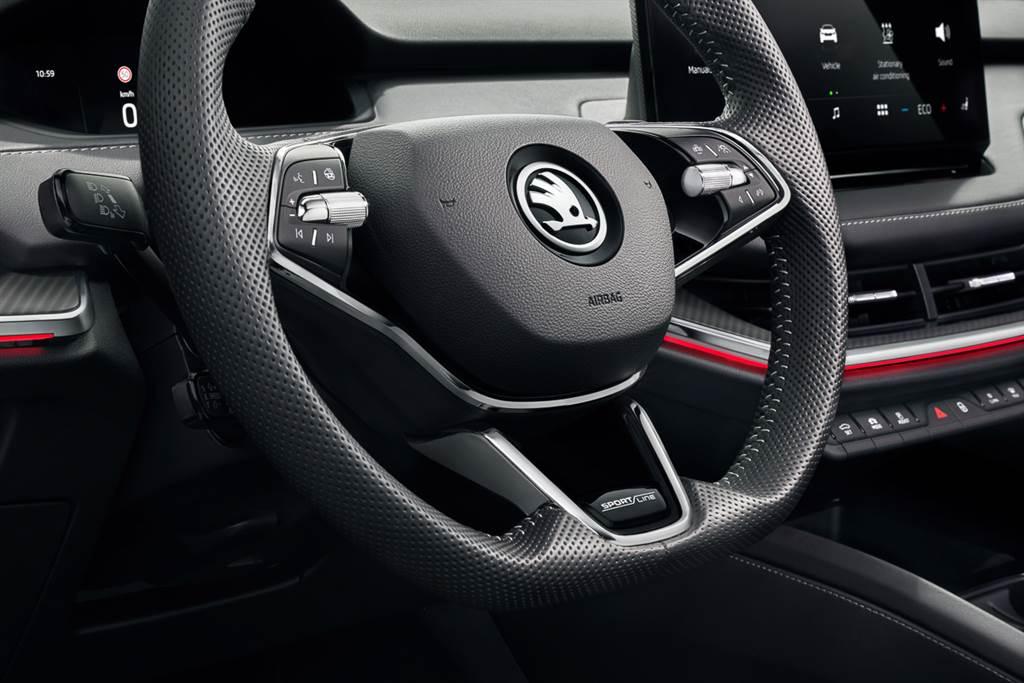 純電休旅跑格化 Škoda Enyaq iV推Sportline編成