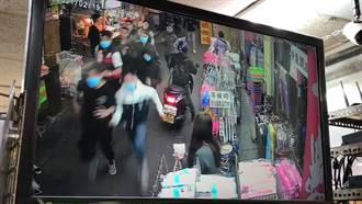 宜蘭東門夜市發生街頭喋血  警出動快打部隊逮一嫌