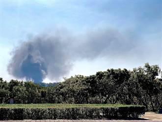 后里橡膠廠大火黑煙遮天 環保局開罰
