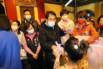初九天公生也要防疫 台灣首廟天壇不供滷麵改福粽