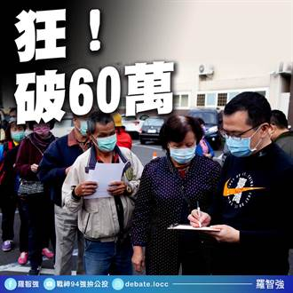 反萊豬公投連署飆破60萬 羅智強轟民進黨:還護航萊委嗎
