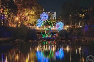 新竹護城河藝術作品展至3/7  「萬物逐光」傳達自然共生理念