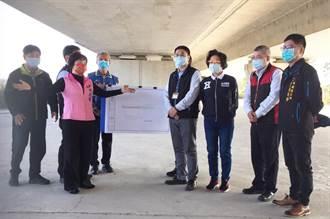 楊瓊瓔爭取神岡清潔隊遷至國4高架橋下 高公局同意優先提供租用