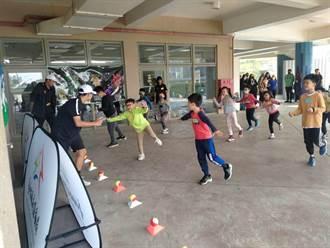 中市迷你網球免費體驗 培養幼童運動興趣