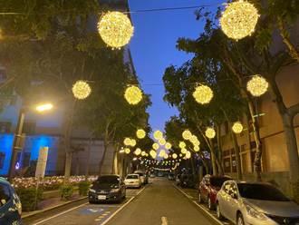 獻給市民滿滿福氣 中市府打造超萌「福祿牛」燈具