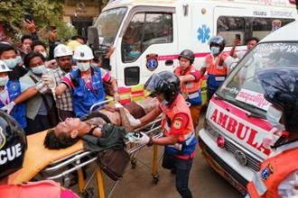 緬甸瓦城反政變示威 警方開槍造成2死20傷