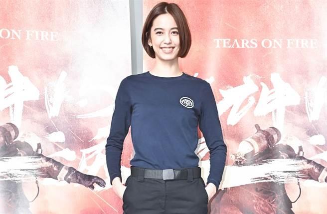 陳庭妮演出多部偶像劇走紅。(圖/中時資料照)