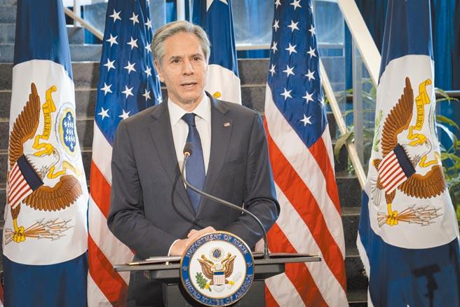 美國國務卿布林肯(見圖)對外表示:「應為受害港人提供避風港」。(摘自美國國務院)