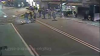新北熱炒店酒客衝突 圍觀男嗆記者:下個受傷的就是你